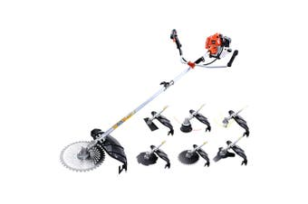 Whipper Snipper Pole Chainsaw Brush Cutter Petrol 62CC Engine 7in1 Multi Tool