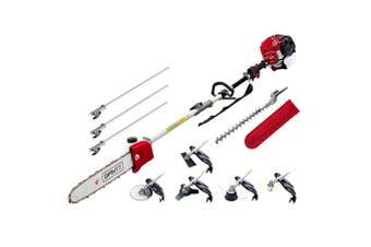 "Whipper Snipper Hedge Trimmer Brush Cutter Chainsaw 12"" 65 cc 7 in 1 Multi Tool"
