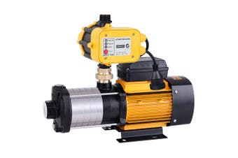 High Pressure Pump Clean & Rain Water 2500W 3.5 HP 6 Stages Yellow Controller