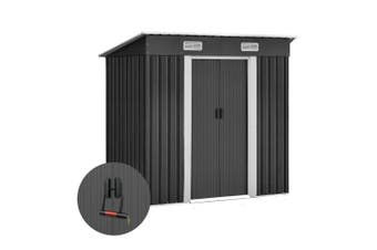 Garden Shed Outdoor Storage Backyard Bicycle Shelter 194x121x182cm Steel Sheds