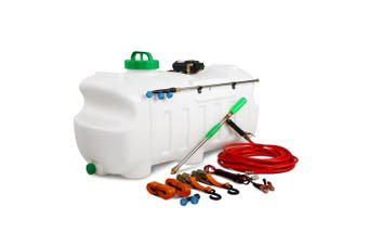 Weed Sprayer Electric 12V ATV Garden Spraying 100L Tank with Pump, 10m Hose