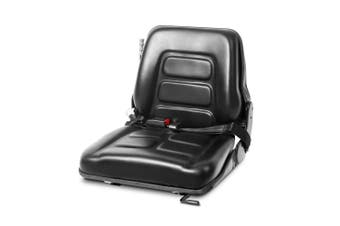 Forklift Tractor Seat Adjustable Back Replacement Excavator Bobcat Truck Seat