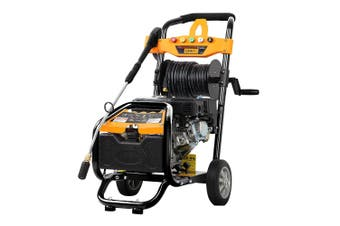 4800 PSI High Pressure Washer 8HP Petrol Cleaner with 30M Hose Reel, Turbo Head