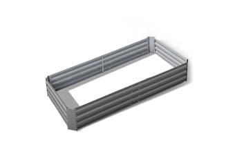 Raised Garden Bed Instant Planter 210 x 90 Galvanised Steel Aluminium