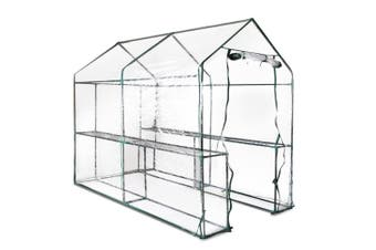 Greenhouse Walk In Transparent Outdoor Green House 1.9 x 1.2m for Plant Garden