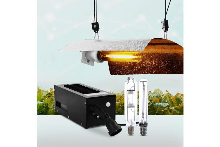 Grow Light Kit for Hydroponic Grow Tent with 400W Bulbs Magnetic Ballast
