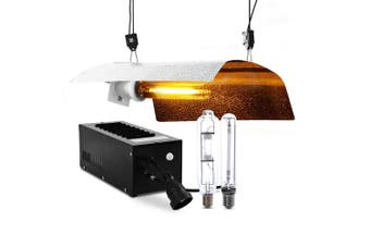 Grow Lights Kit Indoor Plants Hydroponic Growth 250W Magnetic Ballast Reflector