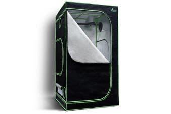 Greenfingers 1680D 1MX1MX2M Hydroponics Grow Tent Kits Hydroponic Grow System