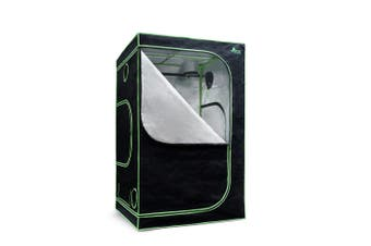 Hydroponic Grow Tent for Plant Growth 1.2x1.2x2 M Spacious Interior Steel Frame