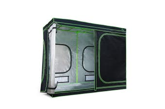 Hydroponics Grow Tent Growing Plants Vegetable Flower Easy Setup 2.4 x 1.2 x 2 m