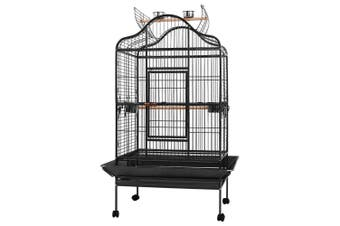 Bird Cage Aviary 168 CM Large Pet Cage with secure lock, castor wheels