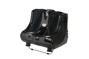 Foot Massager 3D Calf Foot Ankle Roller Livemor Electric Shiatsu Massage - Black