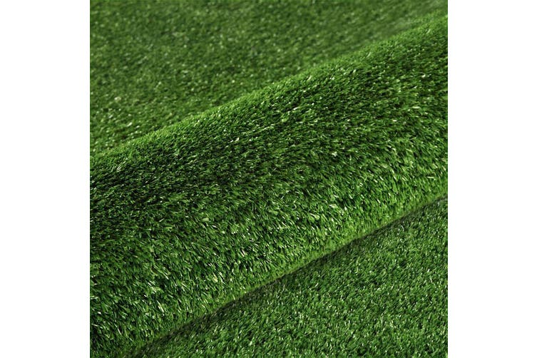 Artificial Grass Synthetic Turf Fake Lawn 1 x 20m 15mm thick - Olive Green