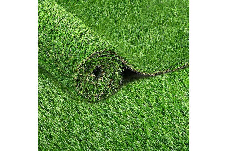 Artificial Grass Synthetic Turf 2 x 5m 40mm thick 10 sqm Fake Lawn Natural Green