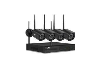 Wireless Security Camera Home System Wifi NVR 1080P 8CH 4 Cameras Outdoor