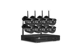 Wireless Security Camera System with NVR 8 Channel Recorder & 8 Bullet Cameras