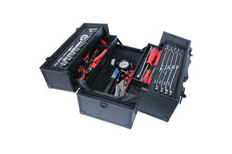 Go Kart Tool box 5 tray Tools Kit w/ Spanners Hammer Pliers Sockets Set SP52300