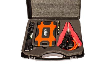 Jump Starter 1600A Peak 12V USB Li+ Power Bank Car Charger 28000mAh SP61073 Kit