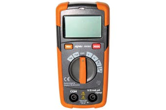 Digital Multimeter with LCD Digital Display, Temperature Probe Data Hold SP62015