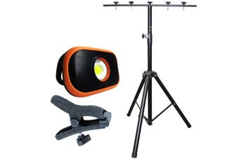 Flood Light Portable Work Light Rechargeable Multifunctional with Tripod SP81485