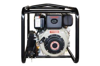 "2"" Diesel Water Transfer Pump Yanmar L70N Electric Start Water Master MYD20E"