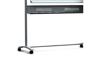Nobo Classic Steel Magnetic Mobile Board Horizontal Pivot 1500x1200mm