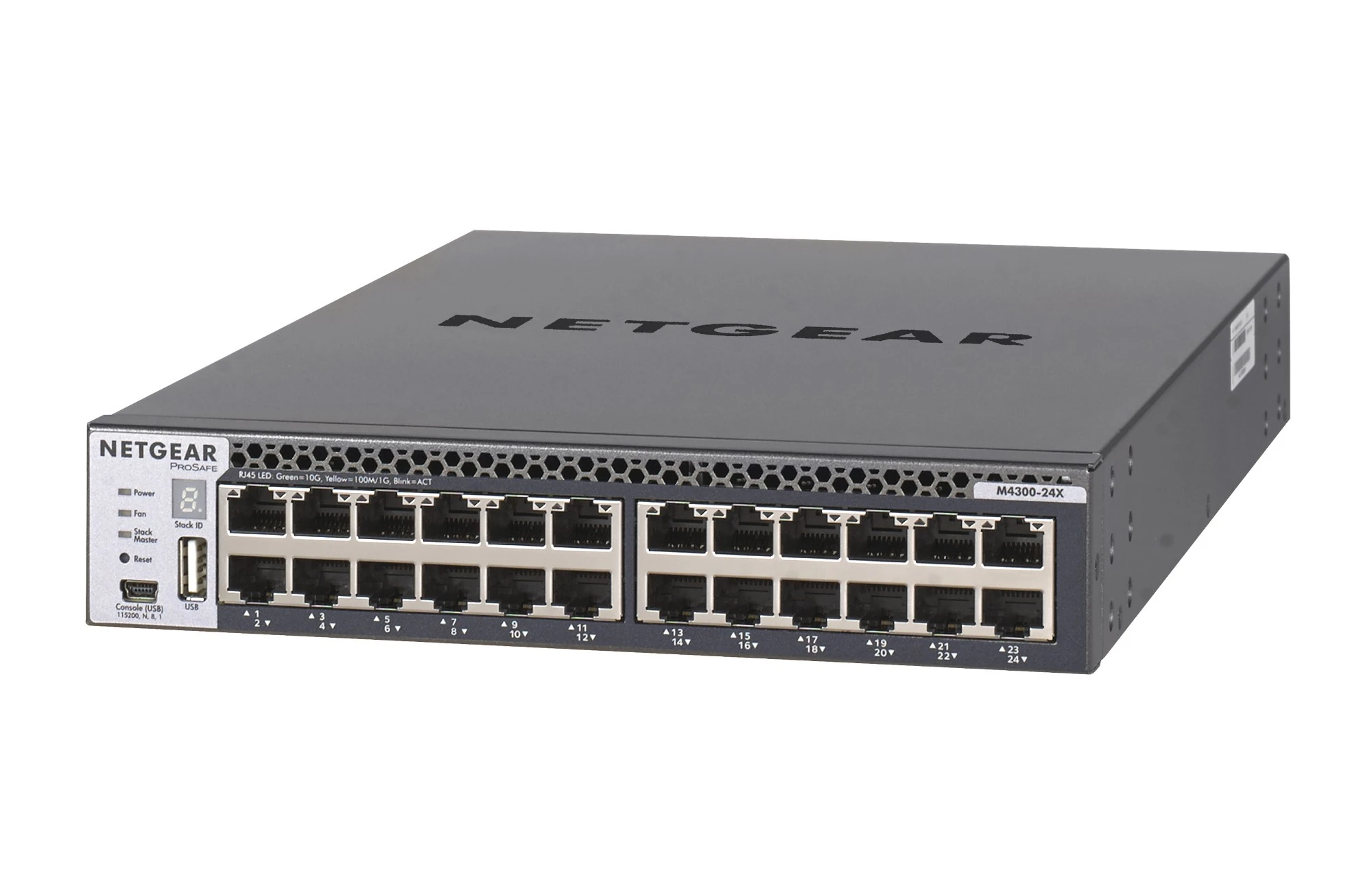 Netgear M4300-24X Managed L3 10G Ethernet (100/1000/10000) Black Netgear M4300-24X Managed L3 10G Ethernet (100/1000/10000) Black