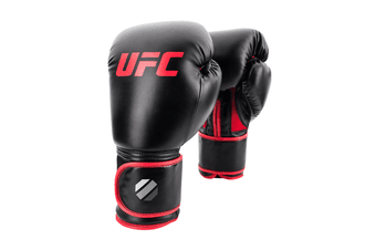 Contender Muay Thai Style 14oz Training Glove Black