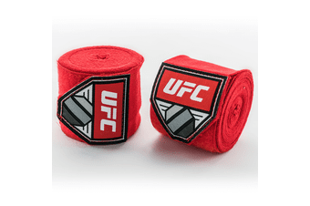 """Contender 180""""Hand Wraps Red"""
