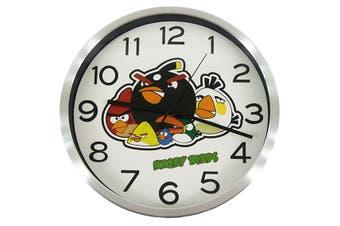 Quartz Angry Birds Children Wall Clock Decoration