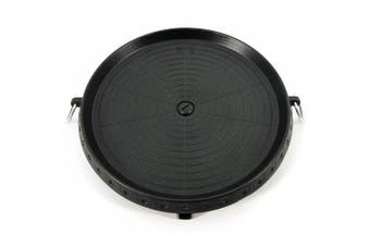 Korean BBQ Plate Grill Pan Non Stick Marble Coated Round