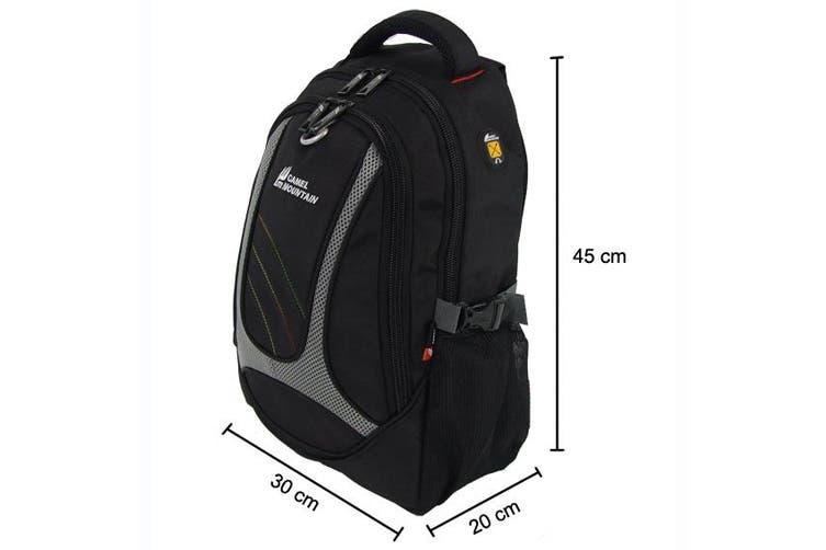 Travel Backpack Laptop Hiking Rucksack -Blue