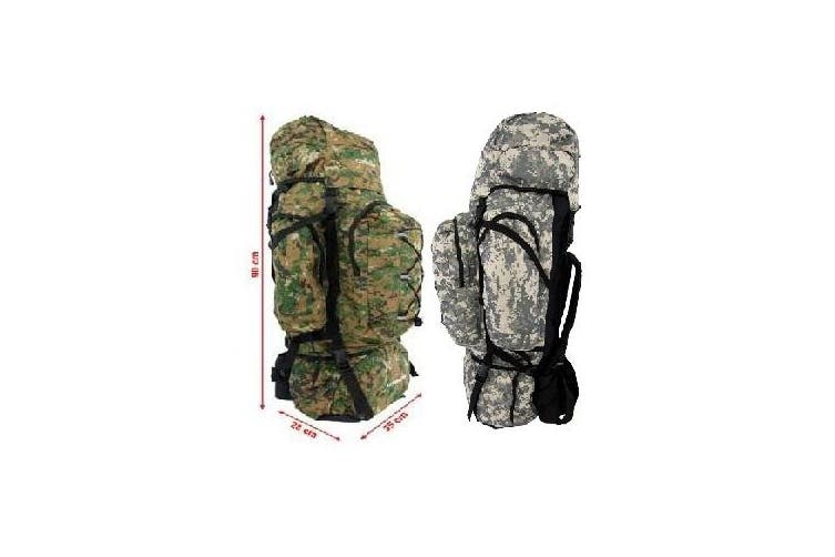 Army Style Camping Hiking Mountain Back Pack - Green