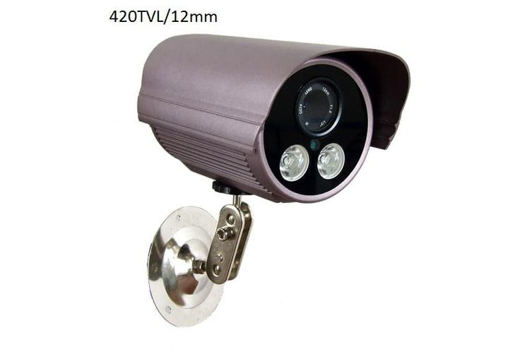 12mm Lens CCTV Security Camera Weatherproof