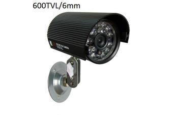 6mm Lens CCTV Security Camera Weatherproof