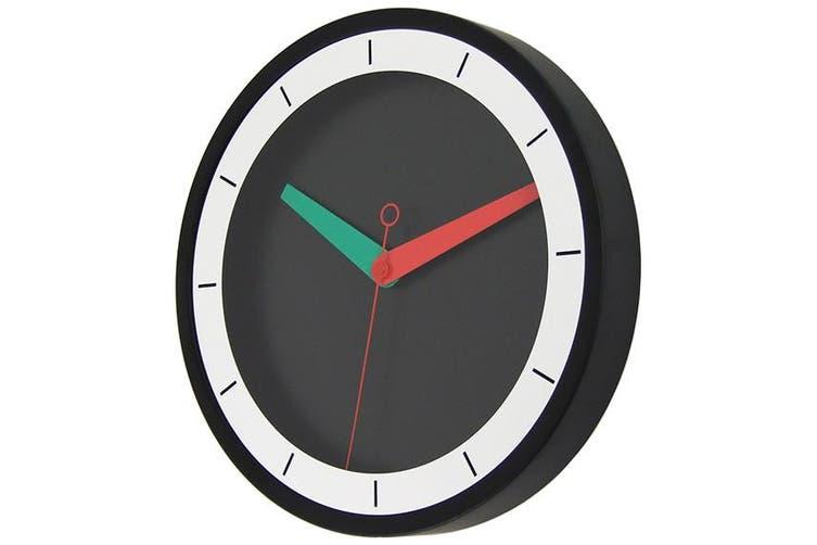 Wall Clock Steel Modern Design Quartz