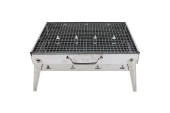 BBQ Charcoal Grill Portable Stainless Steel
