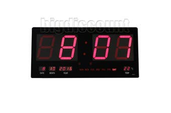 LED Digital Clock Large -Red