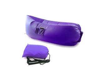 Purple Fast Inflatable Sofa Lounge