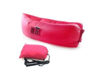 Red Fast Inflatable Sofa Lounge