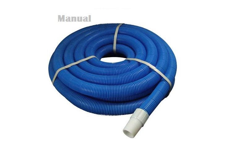 15M Swimming pool vacuum cleaner hose with end cuffs- Manual