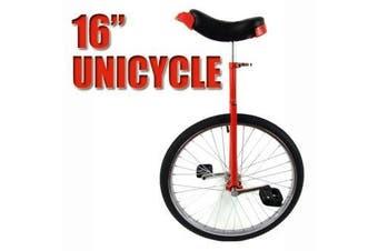Unicycle Circus Bike Black | Red - Small
