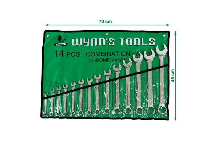 Wrench Spanners Tool Set Chrome Vanadium Steel