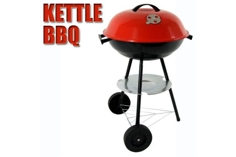Kettle Trolley Charcoal BBQ Grill Barbecue