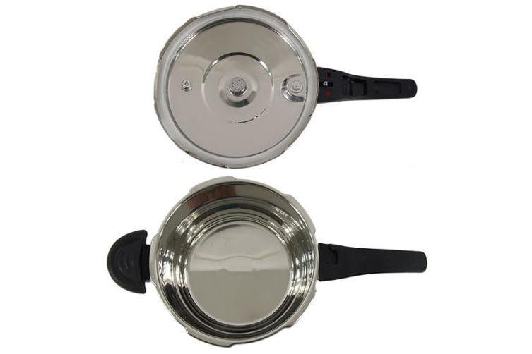 9L Pressure Cooker Stainless Steel - Commercial Grade