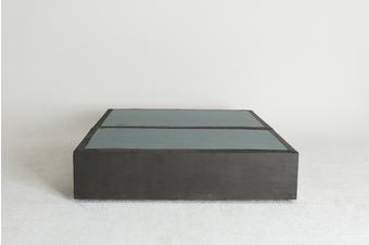 Velvet Maxwell's 4 Drawer Bed Base -Slate - Double