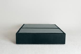 Velvet Maxwell's 4 Drawer Bed Base - Olive - Double