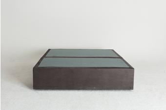 Velvet Maxwell's 4 Drawer Bed Base - Charcoal - Super King