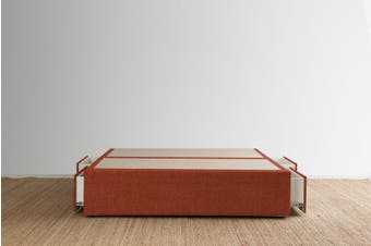 Maxwell's 4 Drawer Bed Base - Terracotta - King