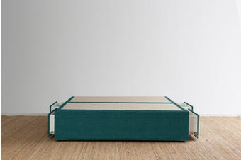 Maxwell's 4 Drawer Bed Base - Teal - King